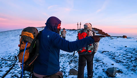7 Days Lemosho Route Kilimanjaro Hiking Safari