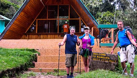 6 Days Marangu Route Kilimanjaro Hiking Safari