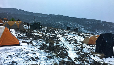7 Days Machame Route with Crater Camp